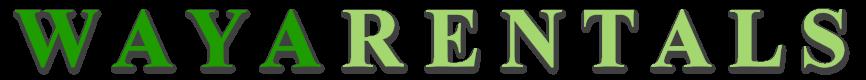 WAYA Rentals LogoType